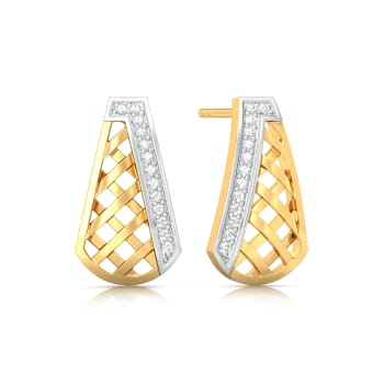 Crossovers Diamond Earrings
