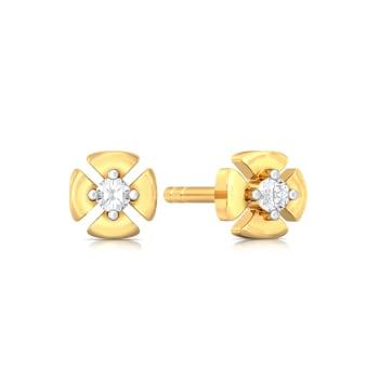 Petal Perfecto  Diamond Earrings