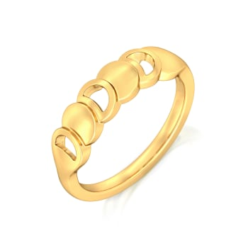 Fringesque Gold Rings