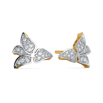 Awesome Blossoms Diamond Earrings