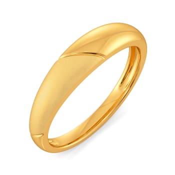 Subtle Staples Gold Rings