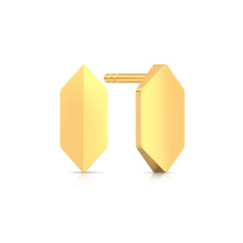 Stunning Simplicity Gold Earrings