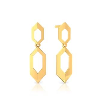 Golden Muse Gold Earrings