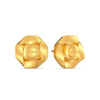 Urban Jungle Gold Earrings