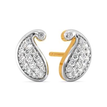 Paisley Park Diamond Earrings