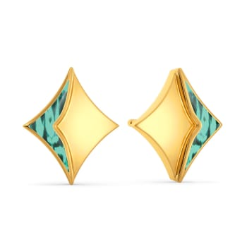 Ombre Out Gold Earrings