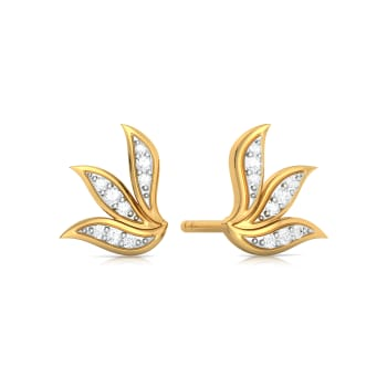 Wreath Bequeath Diamond Earrings