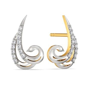 Avian Grace Diamond Earrings