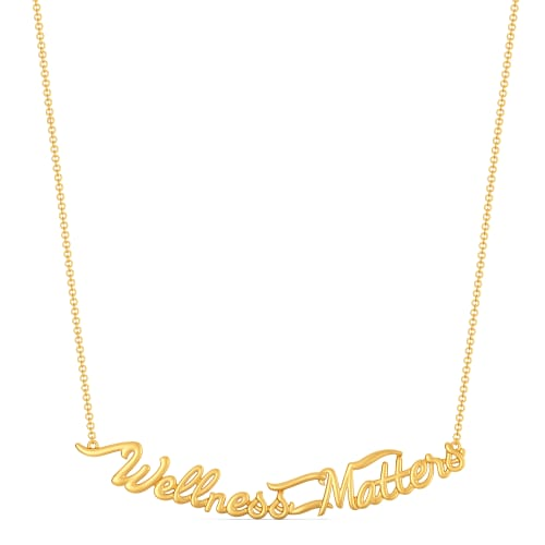 Wellness Vibes Gold Necklaces