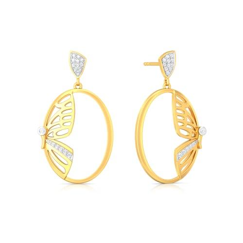 Unravelled Elegance Diamond Earrings