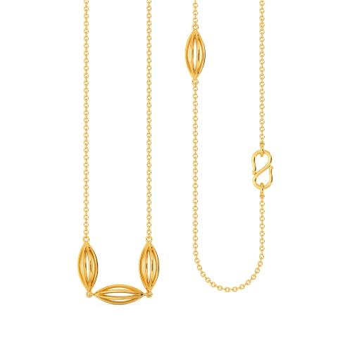 Sunshine Slink Gold Chains