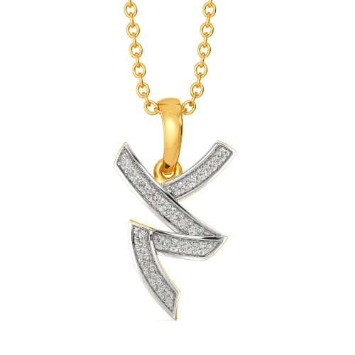 Mod Monochrome Diamond Pendants