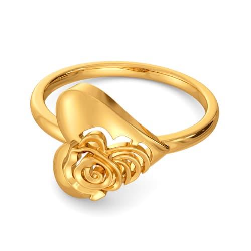 Love Bomb Gold Rings