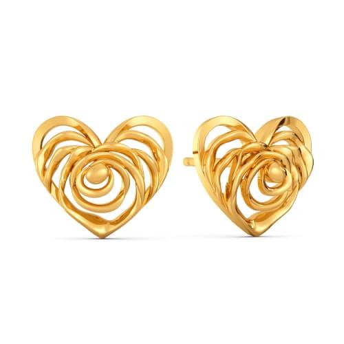 Fierce Fables Gold Earrings