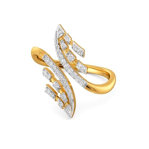 Groovy Energy Diamond Rings