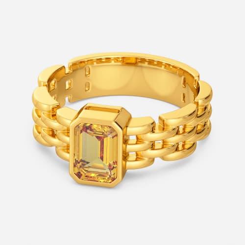 Hazel Hues Gemstone Rings