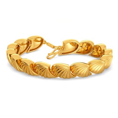 The Juliet Groove Gold Bracelets