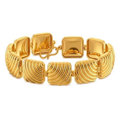 Volume Versions Gold Bracelets