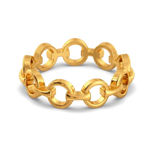 Nothing But Net Gold Rings