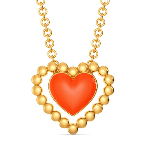 Colour Crush Gold Pendants