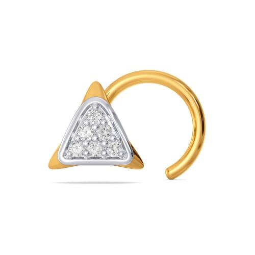 Sober Stride Diamond Nose Pins