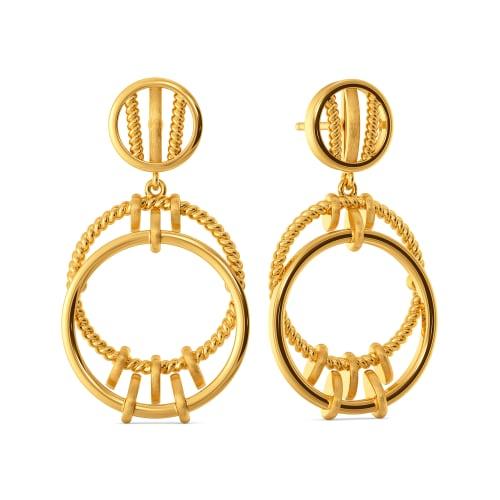 Rope Reclaim Gold Earrings