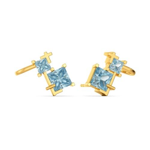 Soft Blues Gemstone Earrings