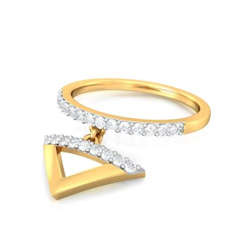 Stripe It Rich Diamond Rings
