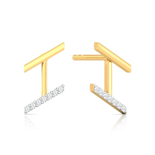 Doubliner Diamond Earrings