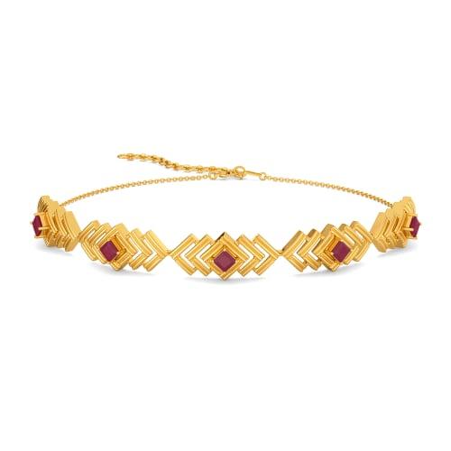 Scarlet Stride Gemstone Necklaces