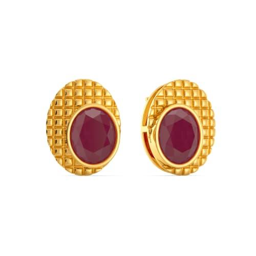 Red Currant Gemstone Earrings