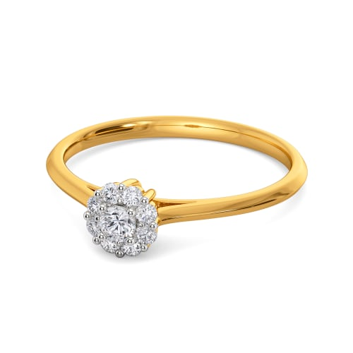 Floral Finesse Diamond Rings