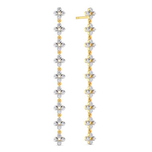 Floret Glow Diamond Earrings