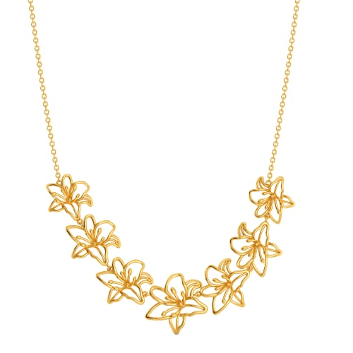 Lily Leisures Gold Necklaces