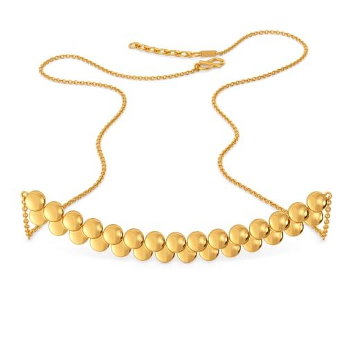 Manhattan Glitz Gold Necklaces