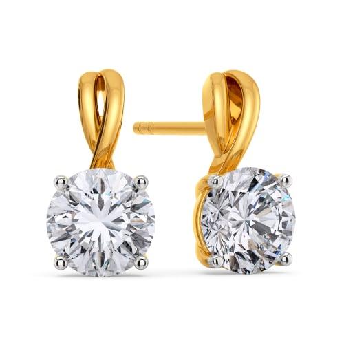 Spark Stark Diamond Earrings