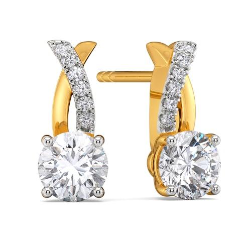 Seek the Spark Diamond Earrings
