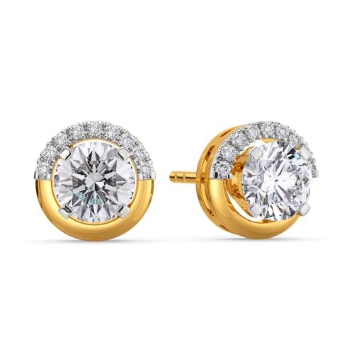 Sparkle Spheres Diamond Earrings