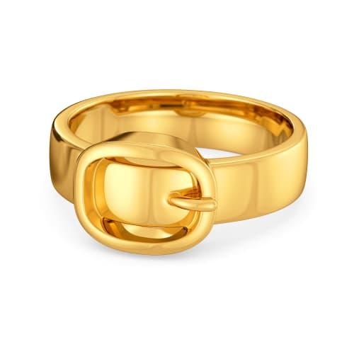 Flatter Me Belt Gold Rings