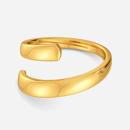Cinch Tight Gold Rings