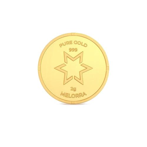 2 g 24 kt Gold Coin Gold Coins