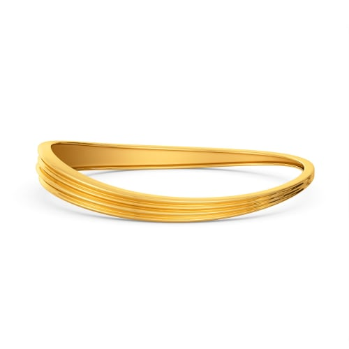 The Juliet Groove Gold Bangles