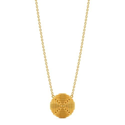Poufe Party Gold Necklaces
