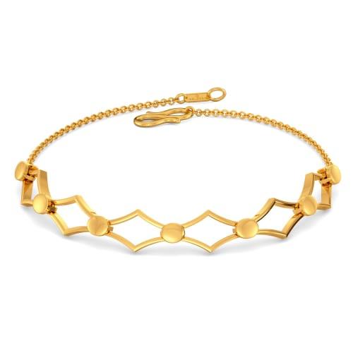 Mesh Medley Gold Bracelets