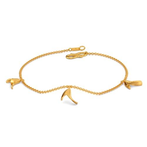 Beanie Signs Gold Bracelets