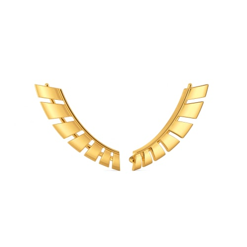 Armour Conceals Gold Earrings