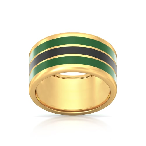 Freedom Fighter Gold Rings