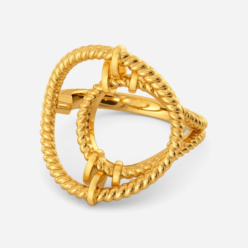 Tug A Tote Gold Rings