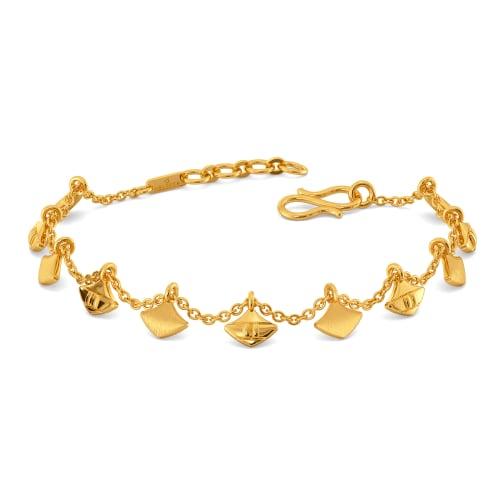 Wicker Vibes Gold Bracelets