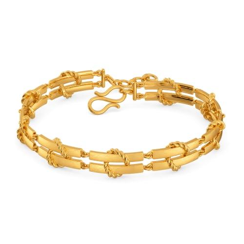 Total Carryall Gold Bracelets